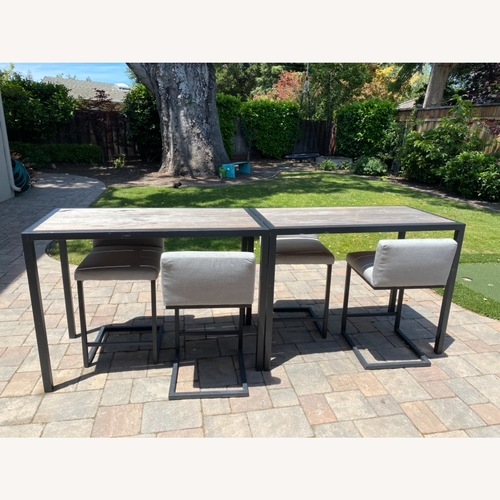 Used Room & Board Outdoor Counter stools for sale on AptDeco