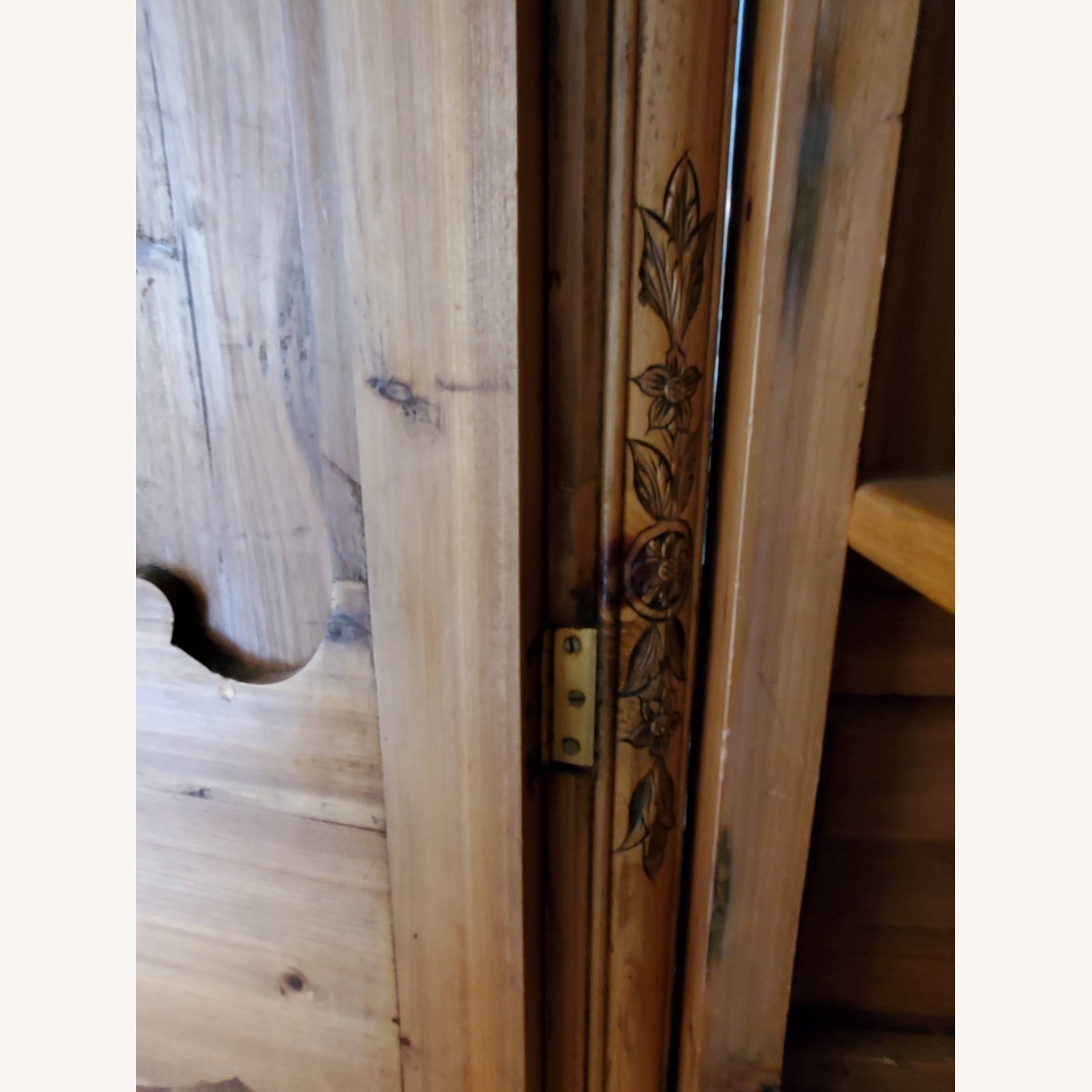 Hand Carved Armoire - image-14
