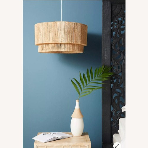 Used Anthropologie Bungalow Chandelier for sale on AptDeco