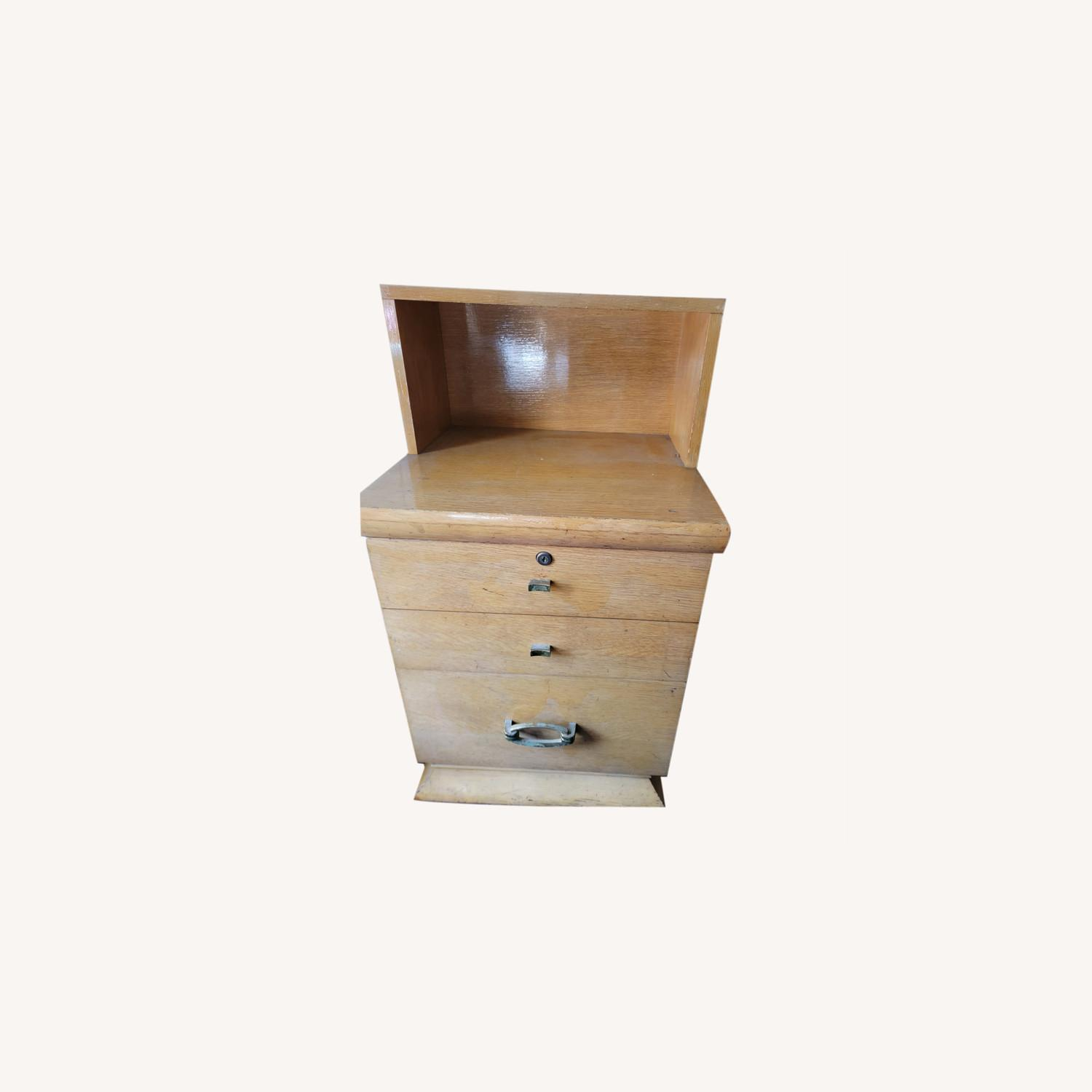 Small Wooden Cabinet - image-0