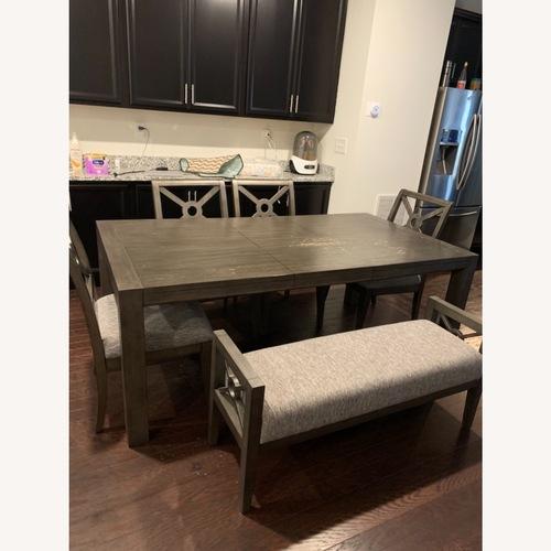 Used Raymour & Flanigan Dining Set for sale on AptDeco