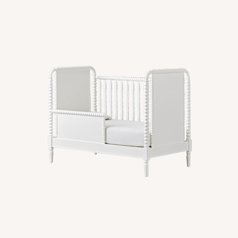 Crate & Kids Crib w/ Toddler Bed Conversion Kit - image-0
