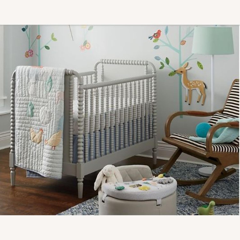 Crate & Kids Crib w/ Toddler Bed Conversion Kit - image-1