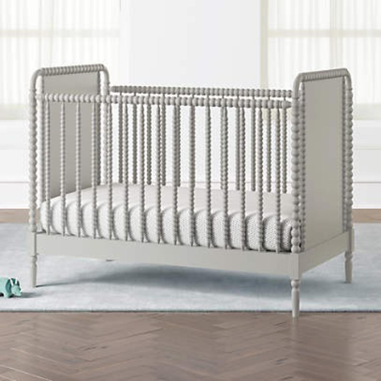 Crate & Kids Crib w/ Toddler Bed Conversion Kit - image-2