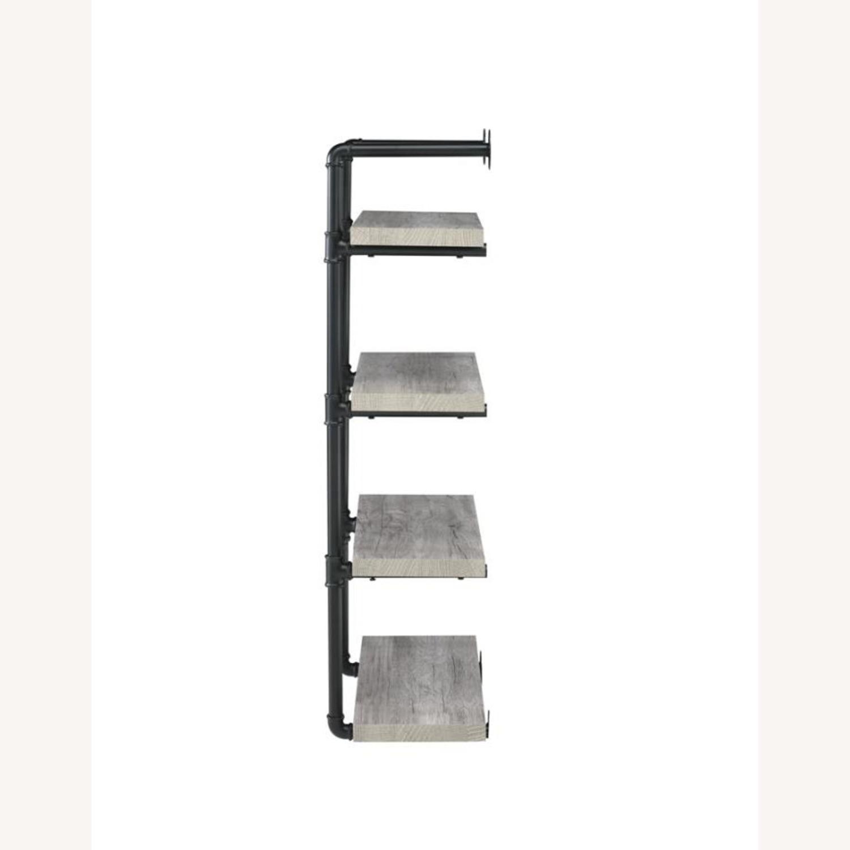 24-Inch Wall Shelf In Grey Driftwood Finish - image-2