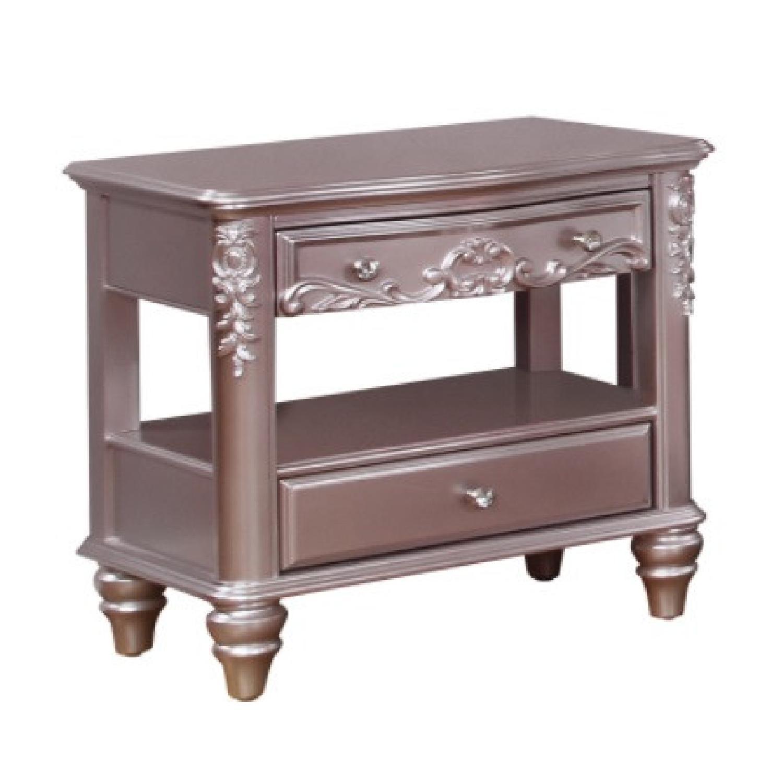 Coaster furniture 2-Drawer Rectangular Nightstand - image-5