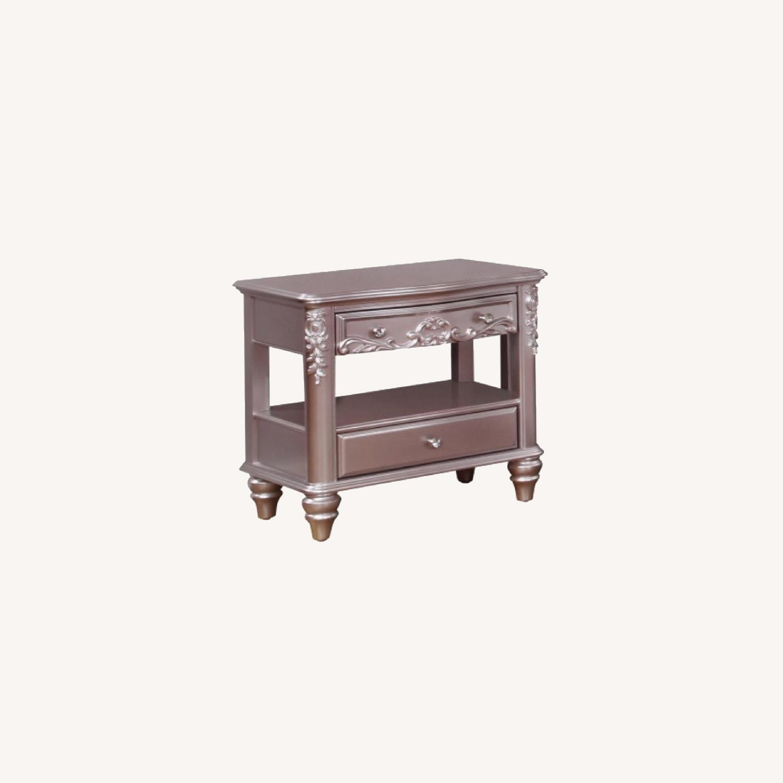 Coaster furniture 2-Drawer Rectangular Nightstand - image-0