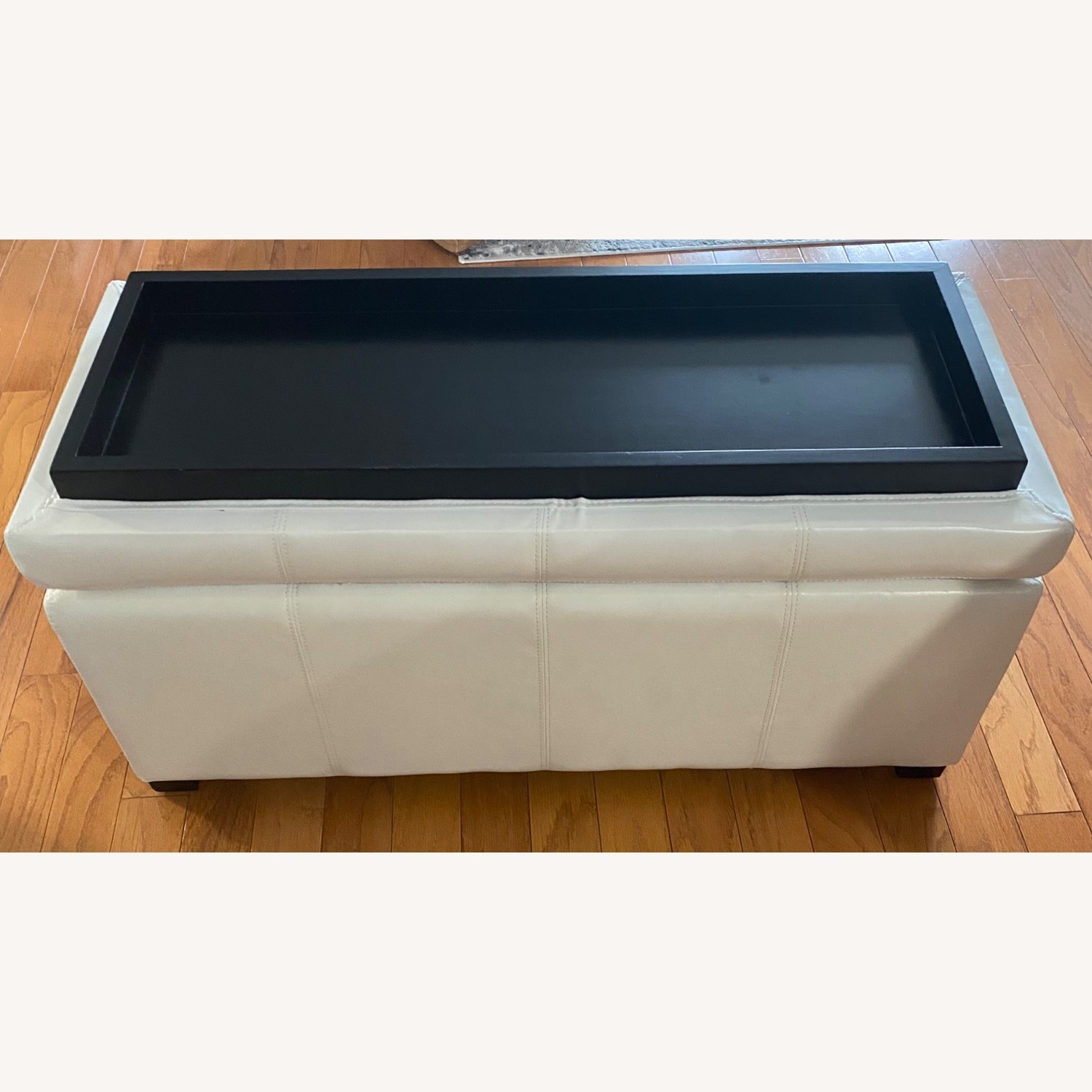 Ottoman/Trunk with Storage - image-4