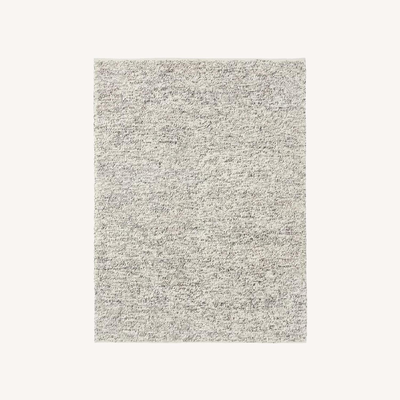 West Elm Mini Pebble Jute and Wool Rug - image-0