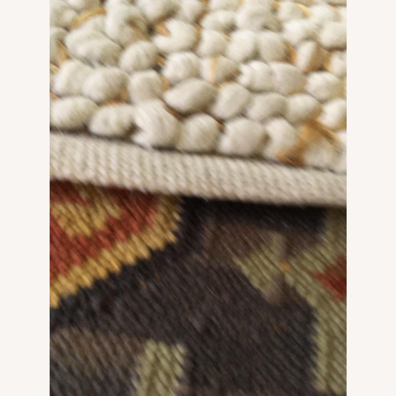 West Elm Mini Pebble Jute and Wool Rug - image-2