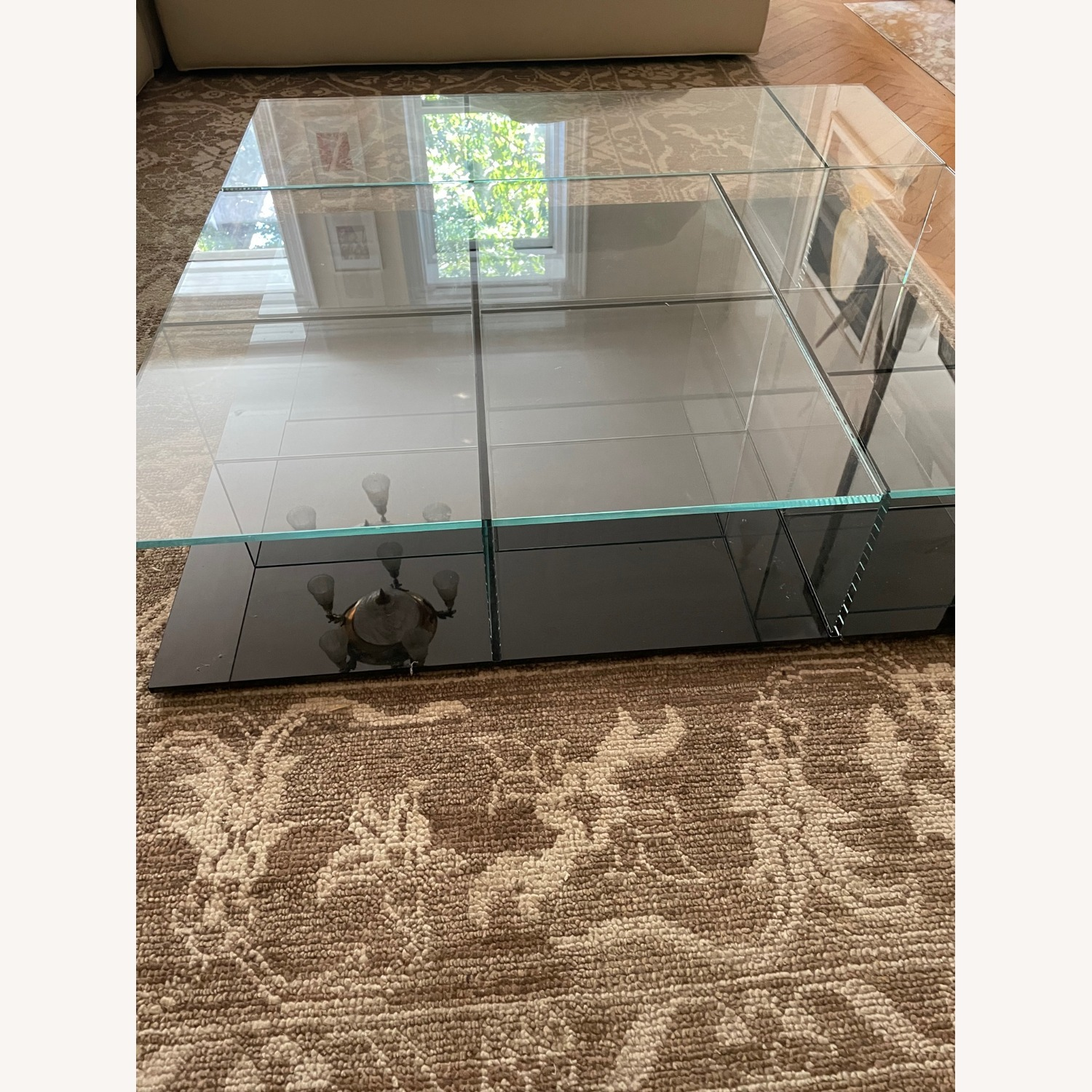 Cassina Mex Low Glass Table Set - image-3