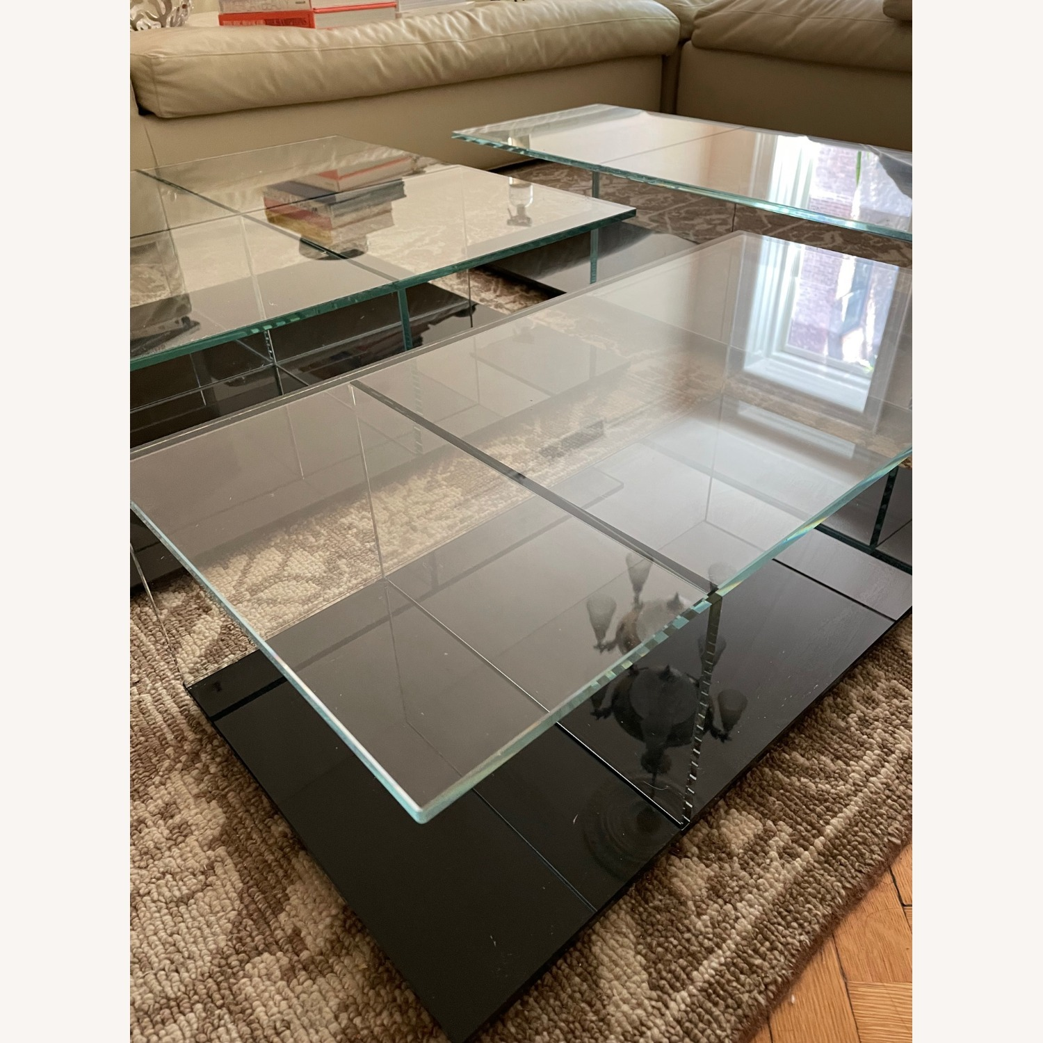 Cassina Mex Low Glass Table Set - image-5