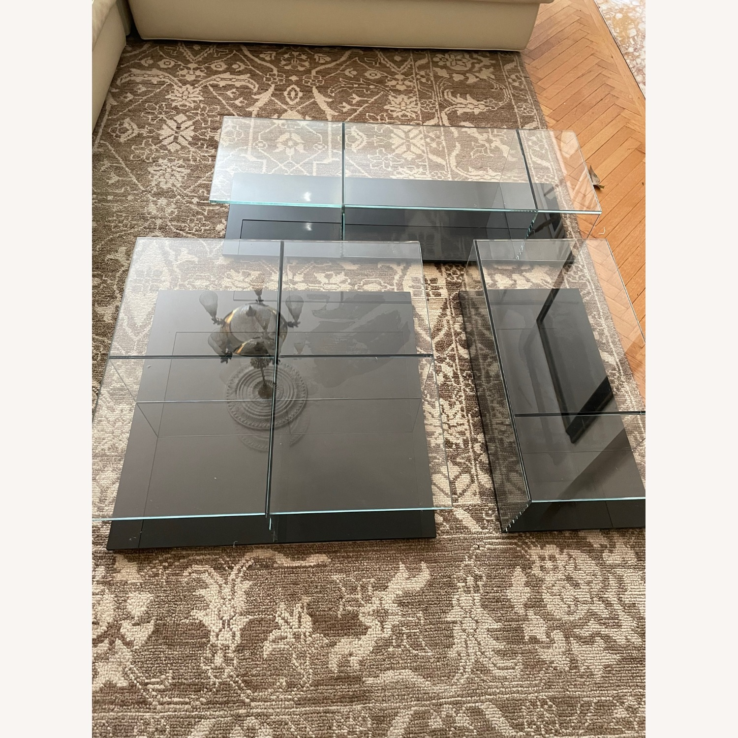 Cassina Mex Low Glass Table Set - image-6