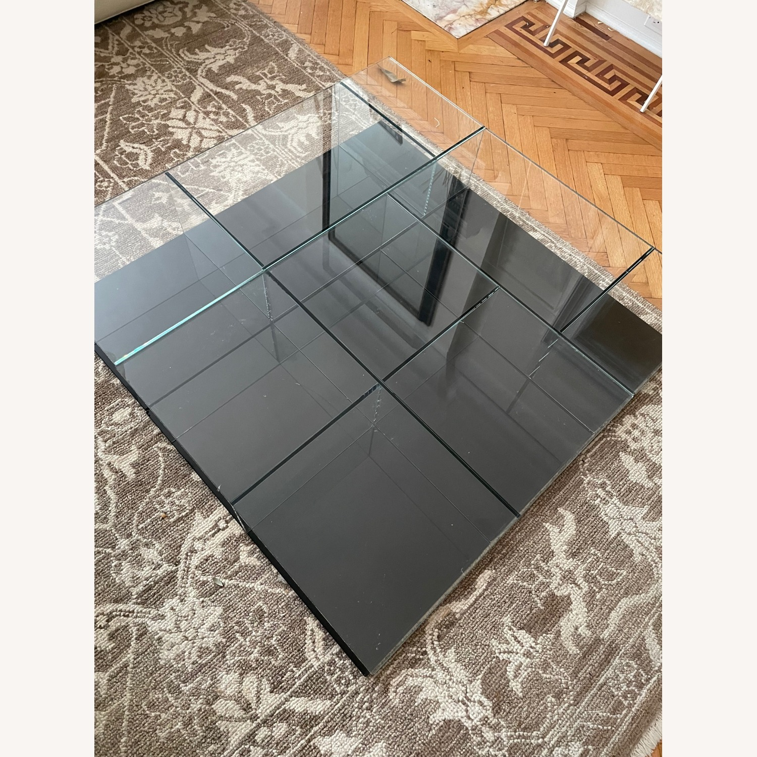 Cassina Mex Low Glass Table Set - image-2