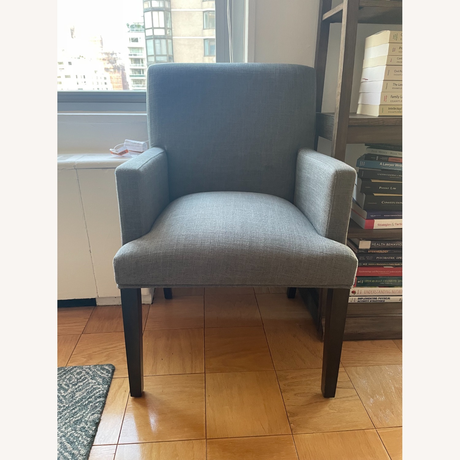 Target Parsons Charcoal Armchair - image-1