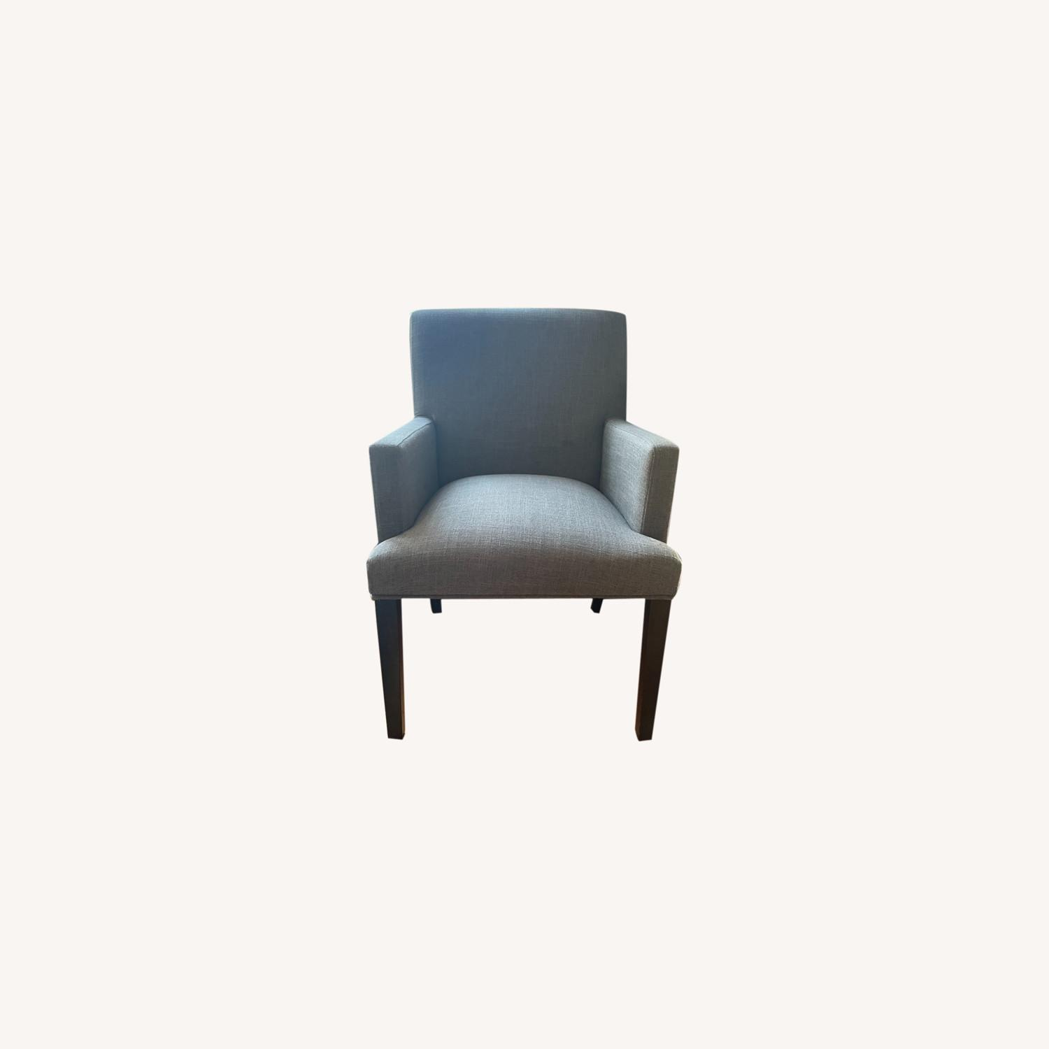 Target Parsons Charcoal Armchair - image-0