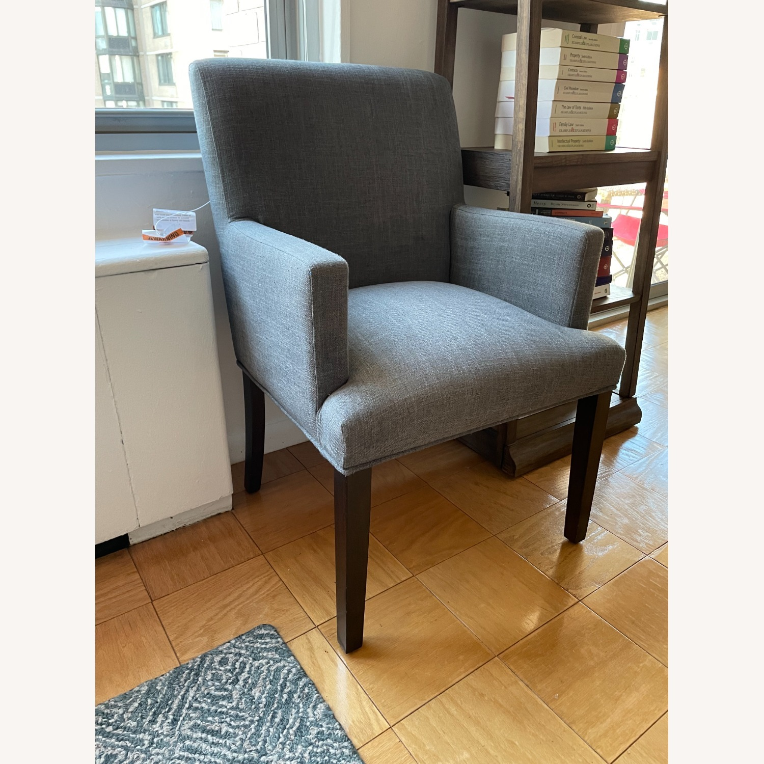 Target Parsons Charcoal Armchair - image-3