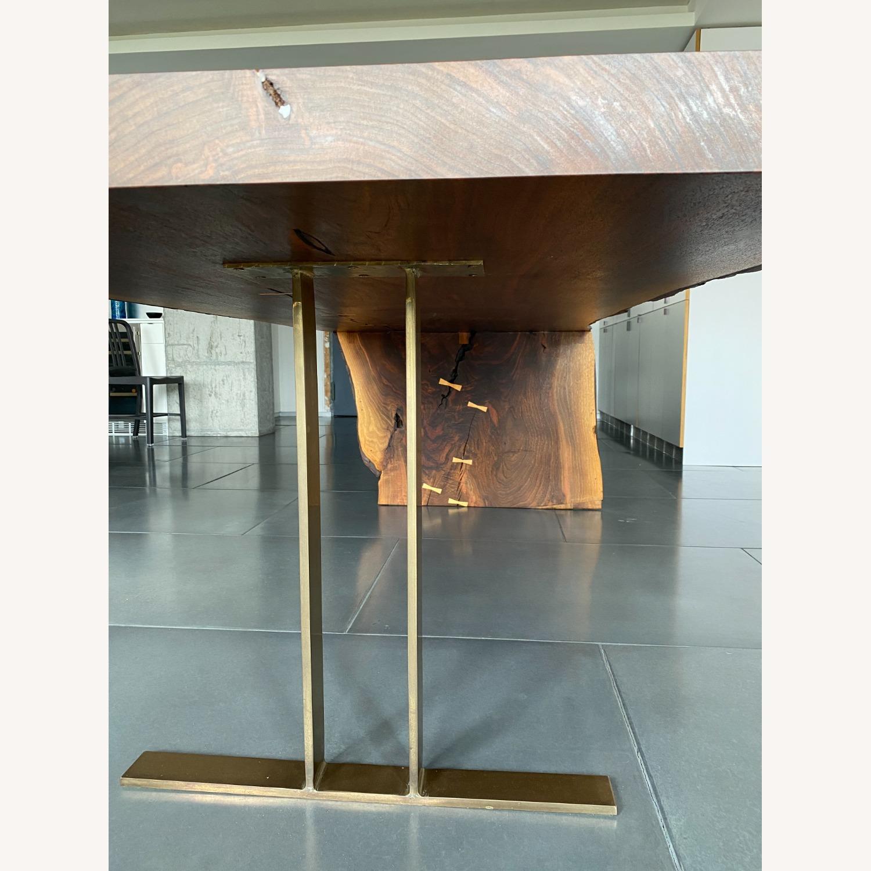 High-end live Edge Walnut Table Desk - image-5