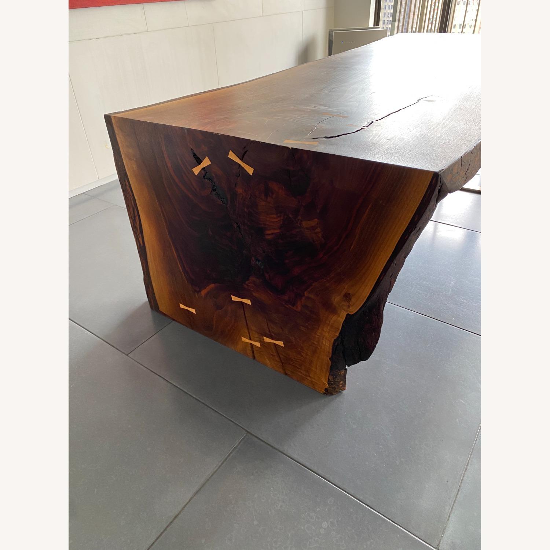High-end live Edge Walnut Table Desk - image-4