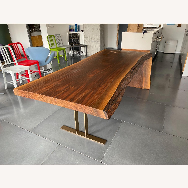 High-end live Edge Walnut Table Desk - image-1