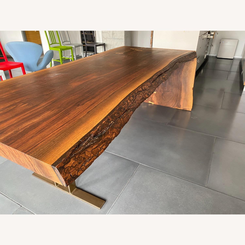 High-end live Edge Walnut Table Desk - image-3