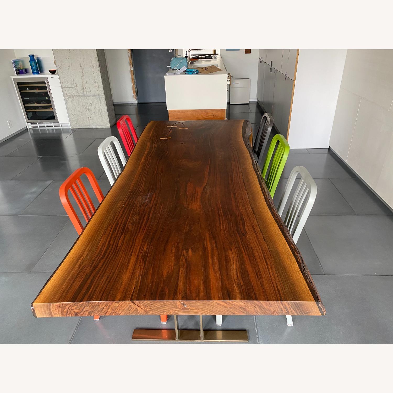High-end live Edge Walnut Table Desk - image-2