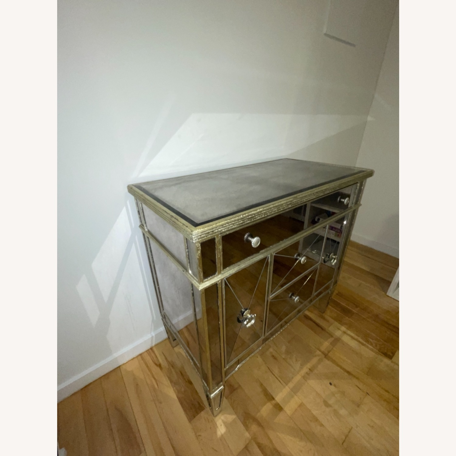 Z Gallerie Borghese Mirror Dresser Table - image-2