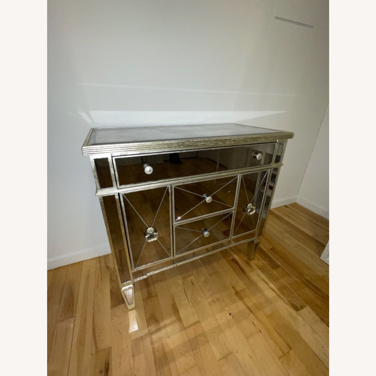 Z Gallerie Borghese Mirror Dresser Table - image-3