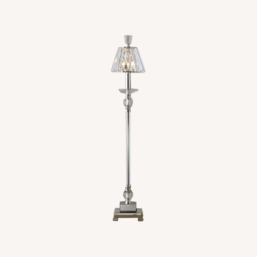 Used Uttermost Crystal Buffet Lamp for sale on AptDeco