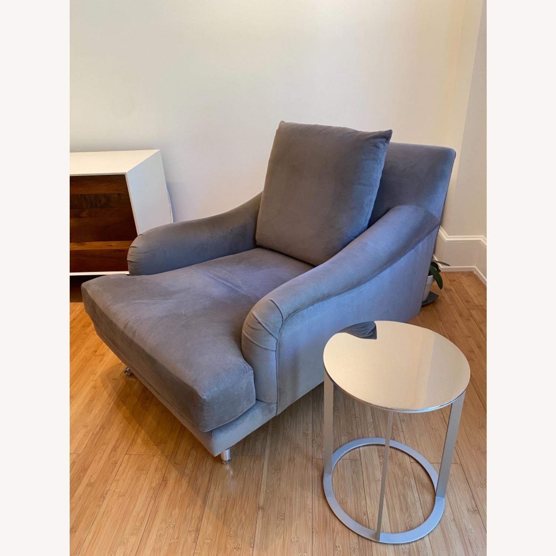 Ralph Pucci Chair and Ottoman - image-5