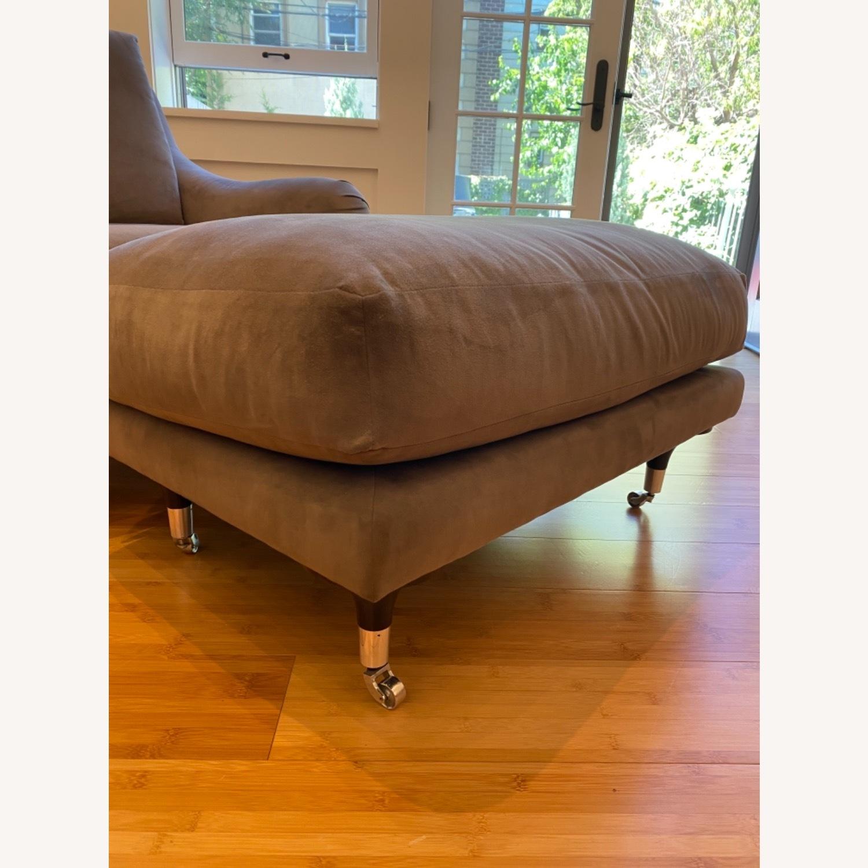 Ralph Pucci Chair and Ottoman - image-6