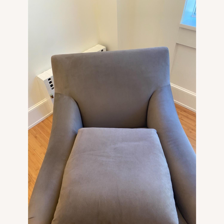 Ralph Pucci Chair and Ottoman - image-3