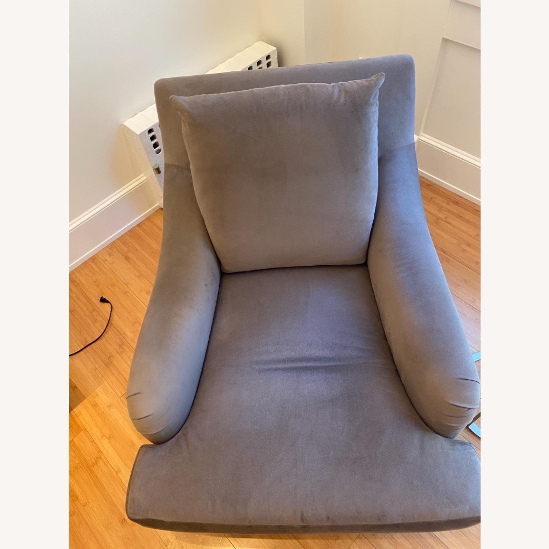 Ralph Pucci Chair and Ottoman - image-4