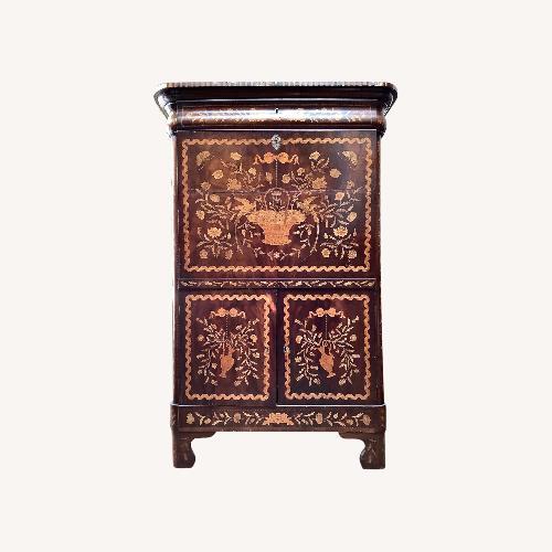 Used 19th Cent. Inlaid Dutch Secretary Cabinet for sale on AptDeco