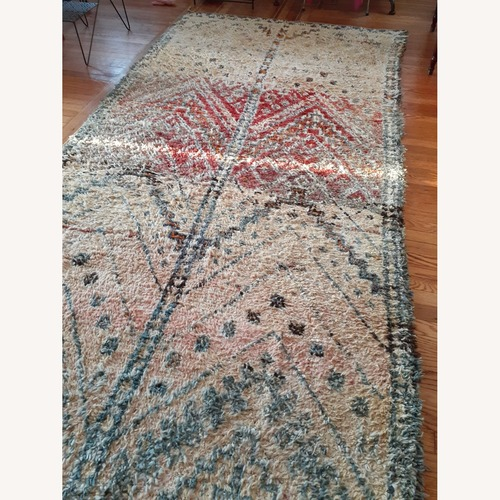 Used Authentic Moroccan Rug for sale on AptDeco