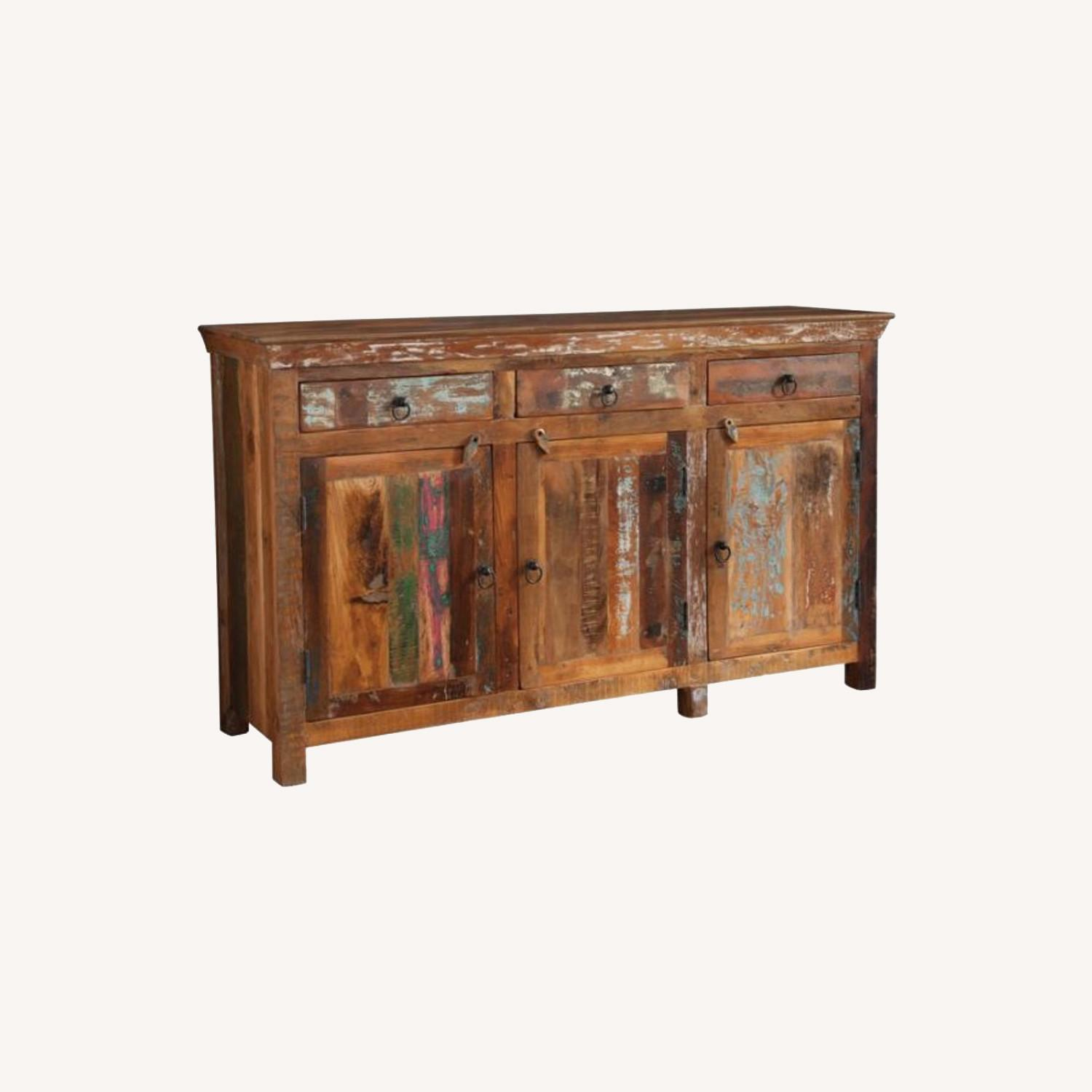 Accent Cabinet In Reclaimed Wood Finish - image-3