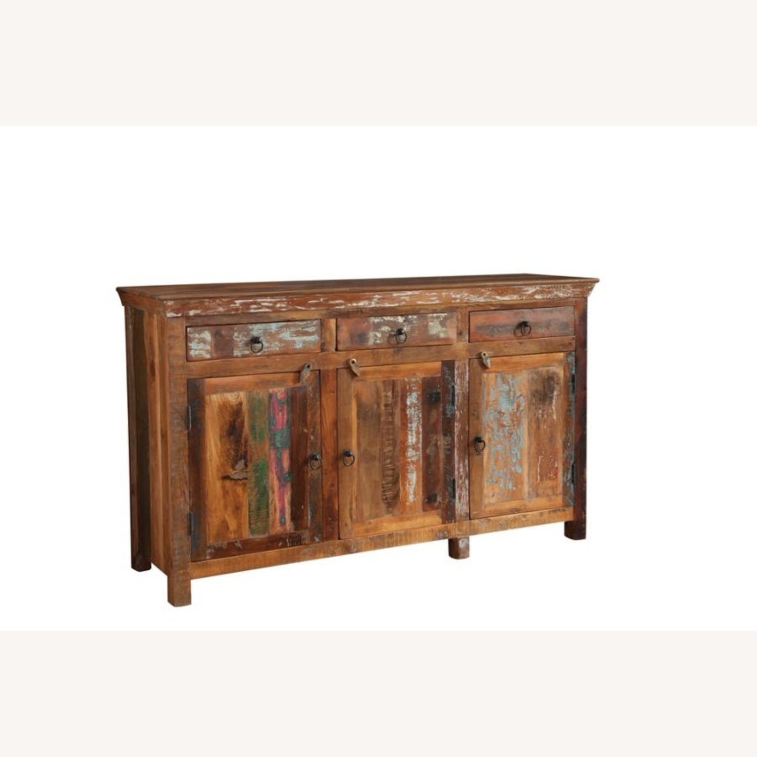 Accent Cabinet In Reclaimed Wood Finish - image-0