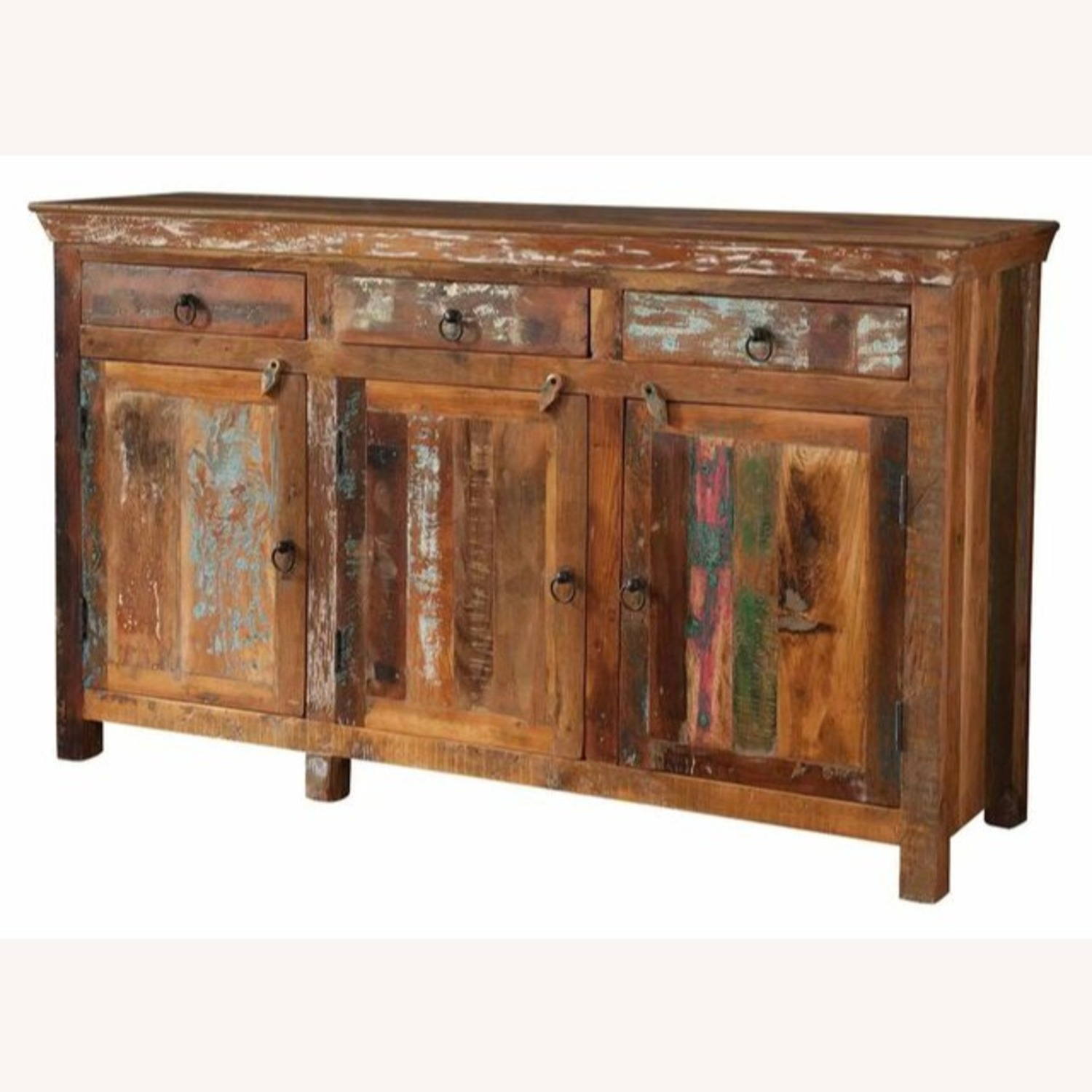 Accent Cabinet In Reclaimed Wood Finish - image-1