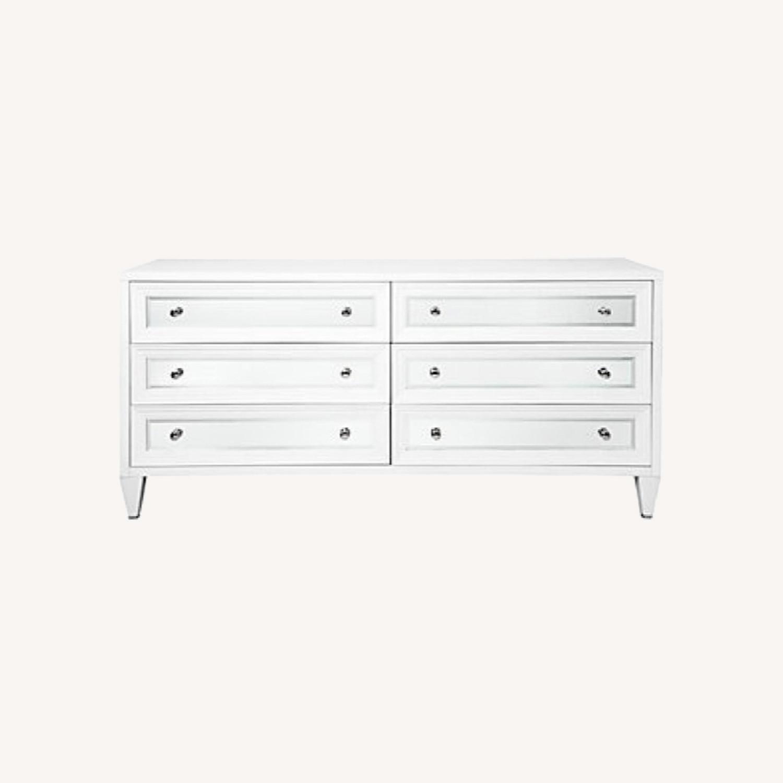 Z Gallerie Mirrored 6 Drawer Dresser - image-0