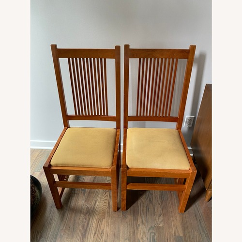 Used Pair of Stickley Dining Chairs for sale on AptDeco