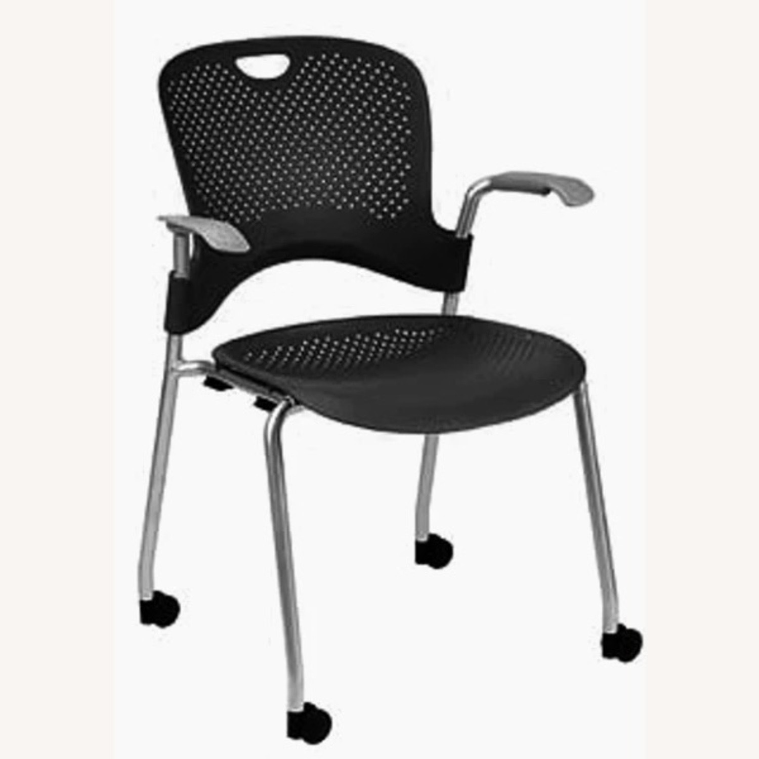 Herman Miller Caper Stacking Chair - Set of Four - image-1