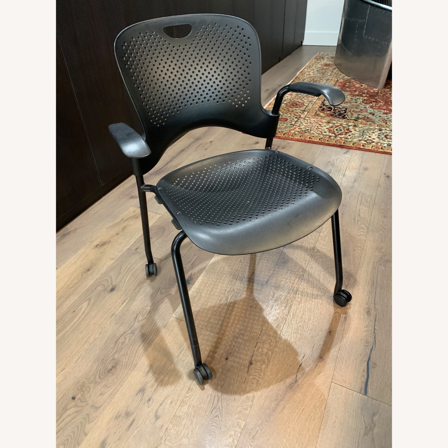 Herman Miller Caper Stacking Chair - Set of Four - image-3