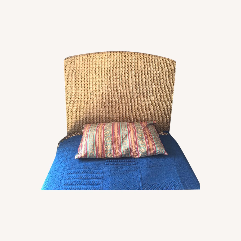 Saw Grass Twin Headboard by Pottery Barn - image-0