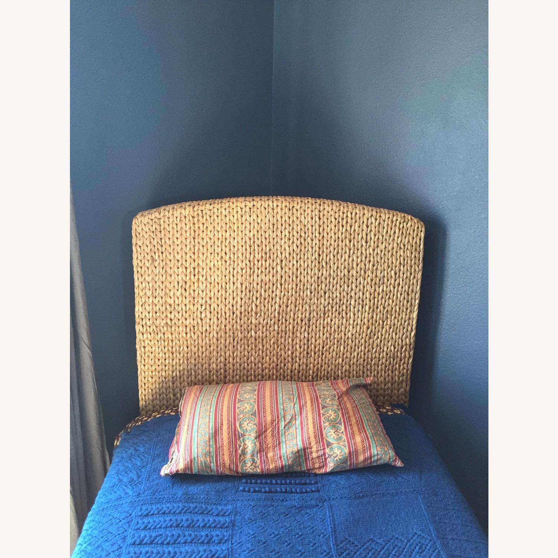 Saw Grass Twin Headboard by Pottery Barn - image-2
