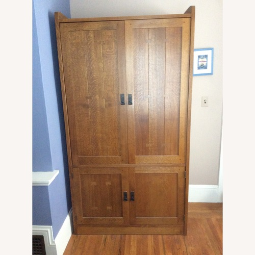 Used Modern Stickley Armoire for sale on AptDeco