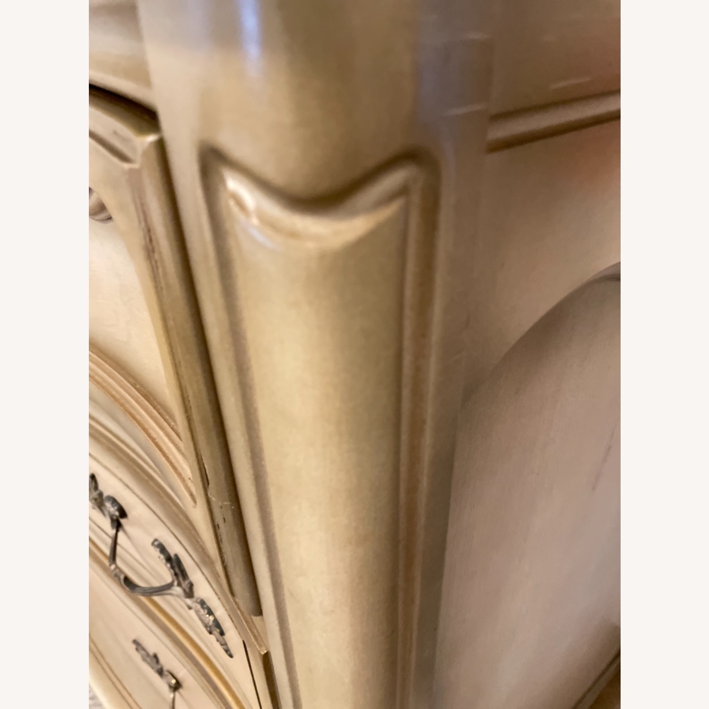 Bassett 1970s French Style Dresser w/Mirror - image-17