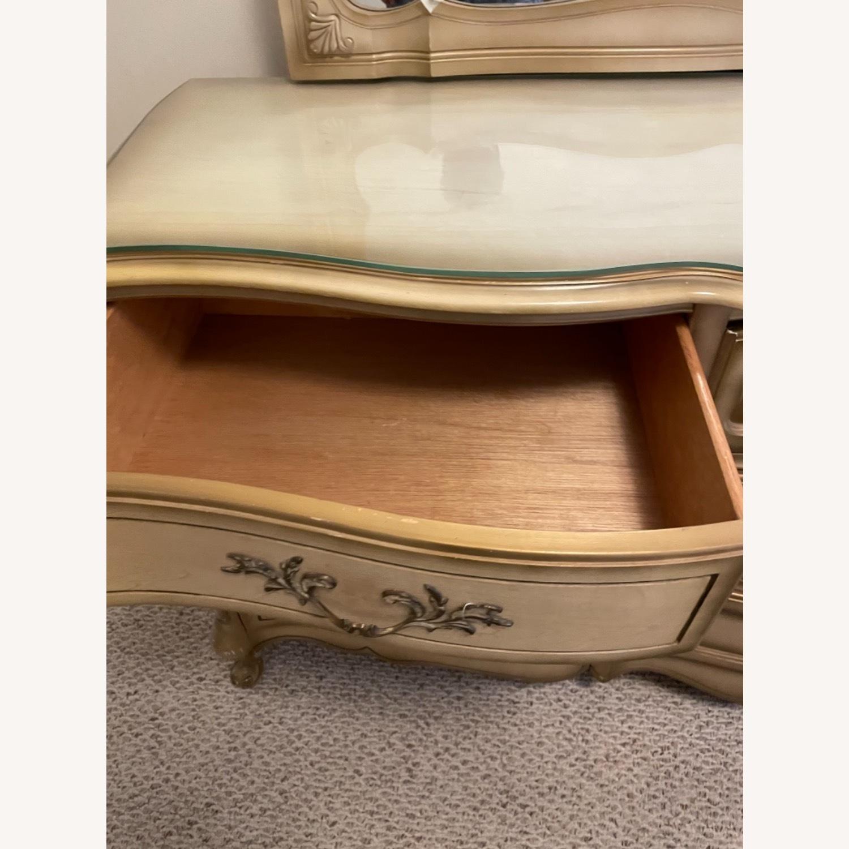 Bassett 1970s French Style Dresser w/Mirror - image-14