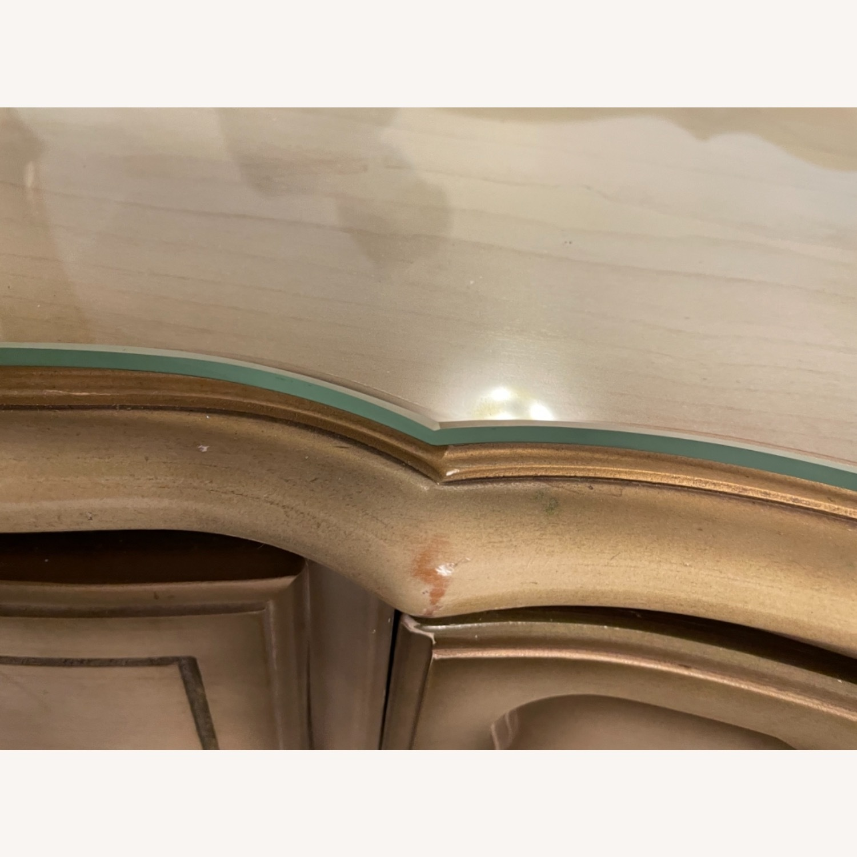 Bassett 1970s French Style Dresser w/Mirror - image-3