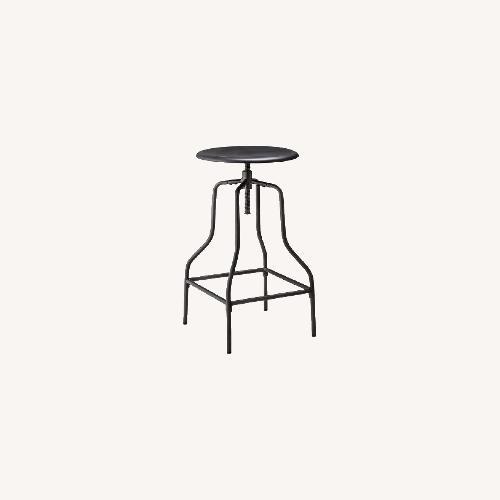 Used Target Threshold Industrial Swivel Barstools Black for sale on AptDeco