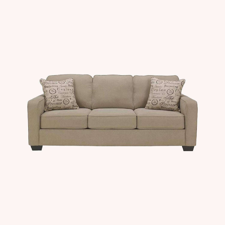 Ashley Furniture 3 Seater Queen Sleeper Sofa - image-0